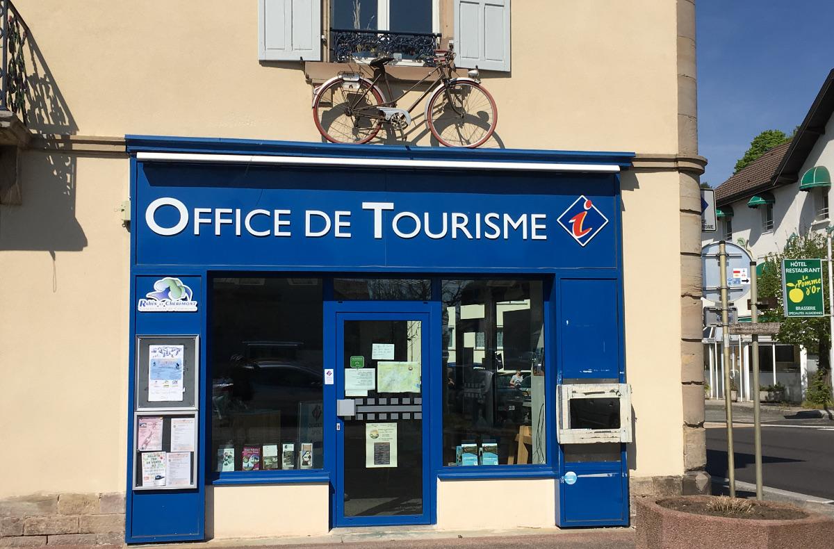 l'office de tourisme de Romchamp (et nous n'avions pas averti)